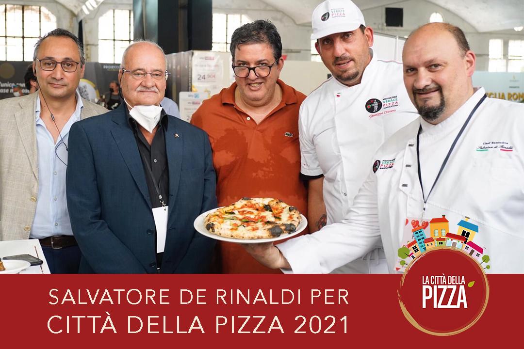 Salvatore de Rinaldi, laboratori e workshop per Città della Pizza 2021