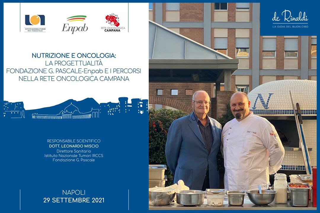 La Pizza Pascalina di Casa De Rinaldi protagonista alla Fondazione Pascale