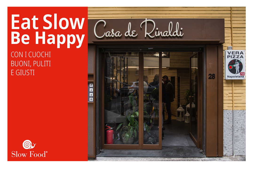 Eat Slow Be Happy: grande successo per l'iniziativa Slow Food in Casa de Rinaldi