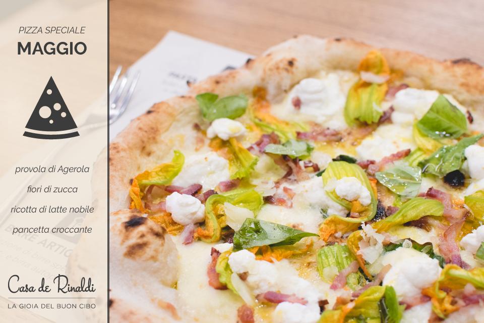 Arriva la pizza speciale di Maggio, non te la perdere!