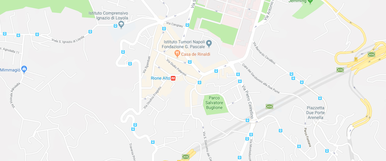 Casa de Rinaldi - Via Sementini - Napoli - Rione Alto