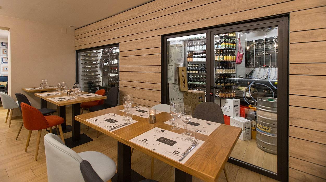 Casa de Rinaldi - la gioia del buon cibo - cantina